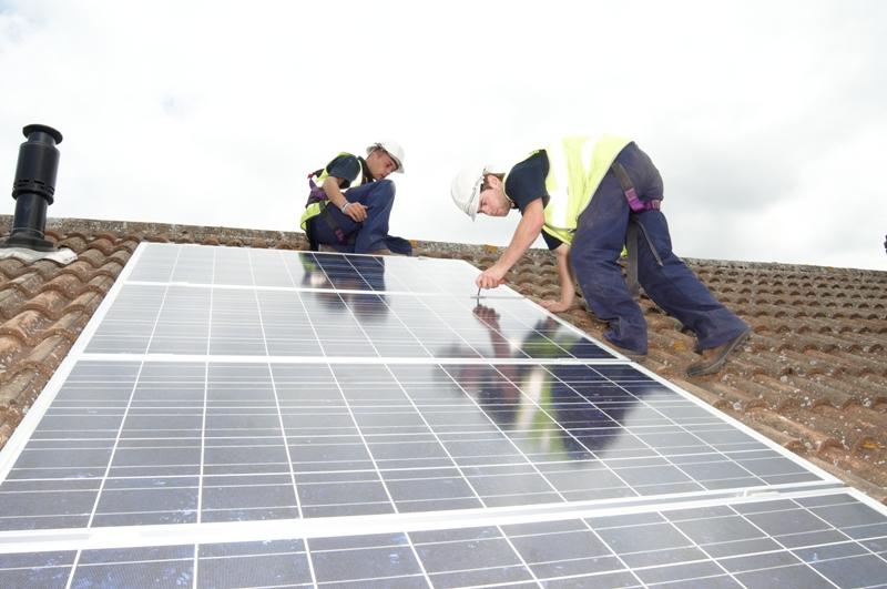 Photovoltaic solar installation