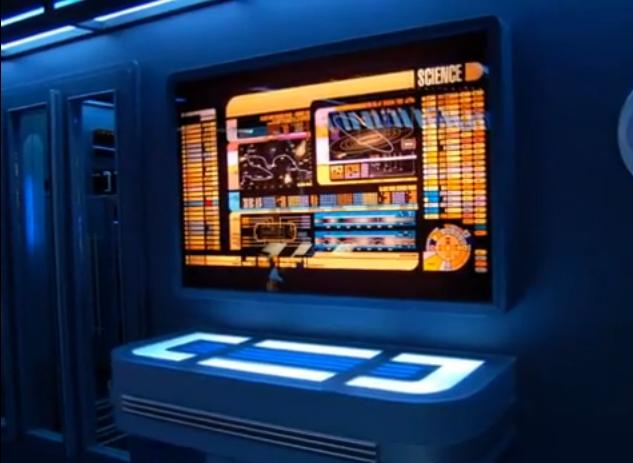Tony Alleyne's Star Trek Lcar & table