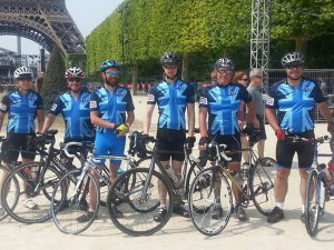 4YP Charity ride from Ipswich - Paris July 2013