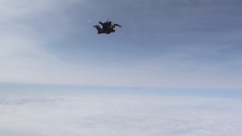 Freefalling at 120mph