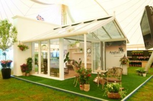 Verandah Conservatory at Hampton Court Flower Show 2012