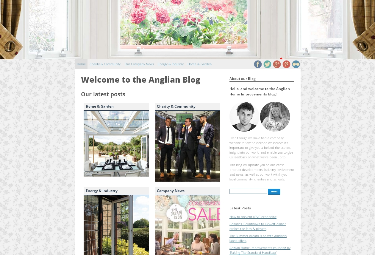 New look Anglian blog