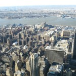 View from Empire state by kimberlykv