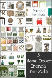 Home Decor Trends for 2013
