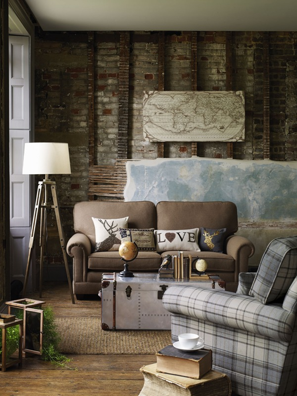 Debenhams rustic room