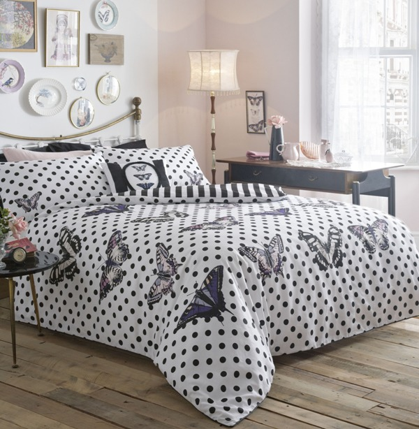Debenhams mono bed linen