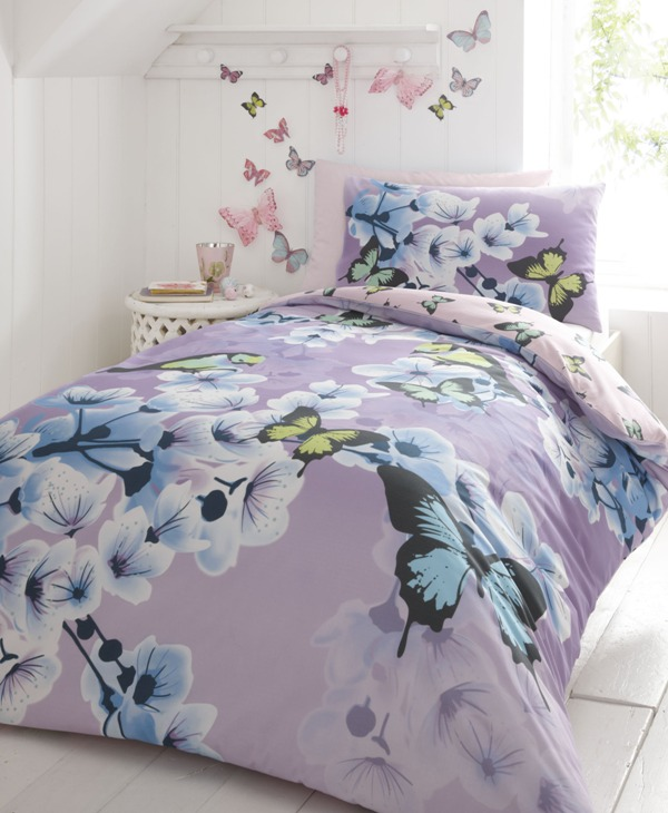 Debenhams butterfly bed linen set