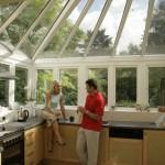 Anglian kitchen conservatory