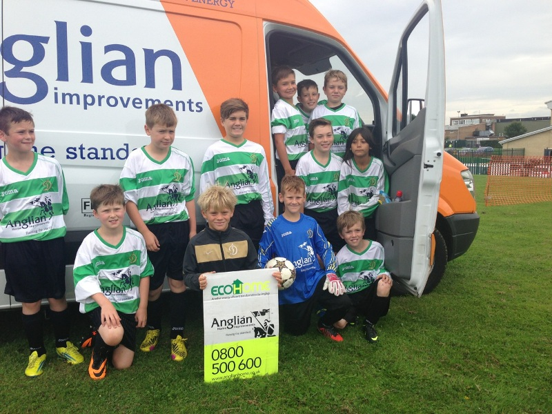 Loughborough Dynamos sponsored by Anglian