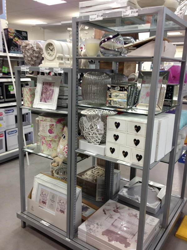 Homebase shabby chic accessories