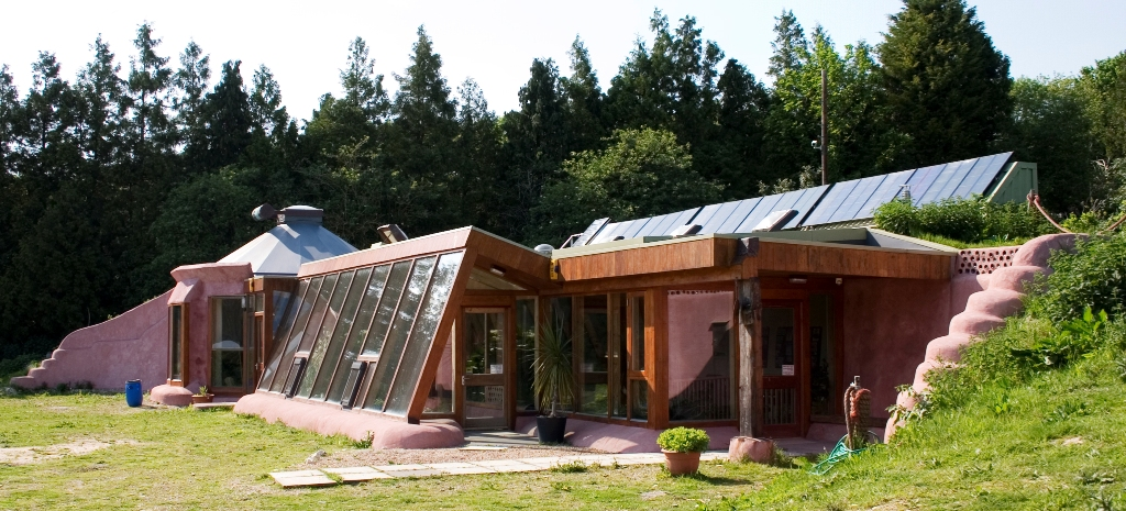 Earthship Passive House in Brighton