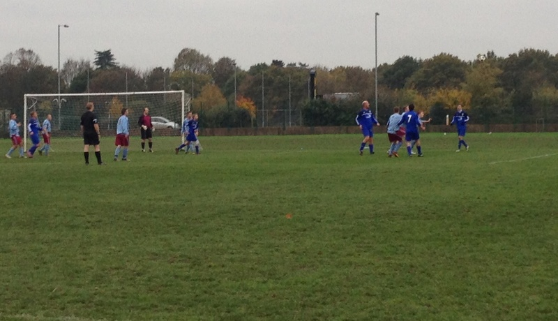 Anglian attacking a throw-in