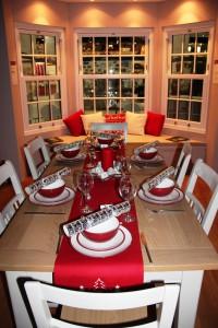 Multiyork table set on the Anglian stand