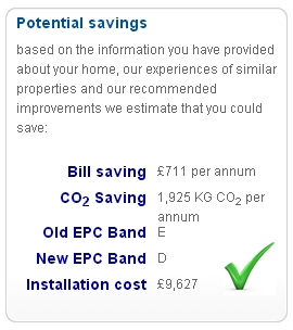 My home's energy efficiency