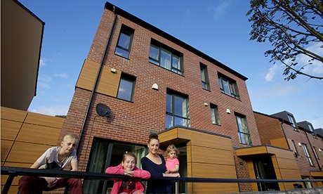 Passive Houses in Oldham