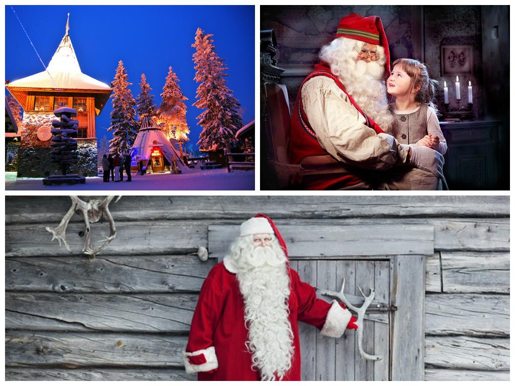 Santa's grotto Lapland