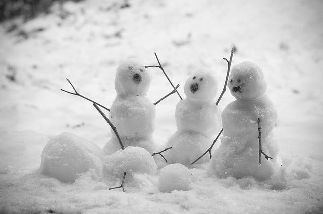 Snowman down