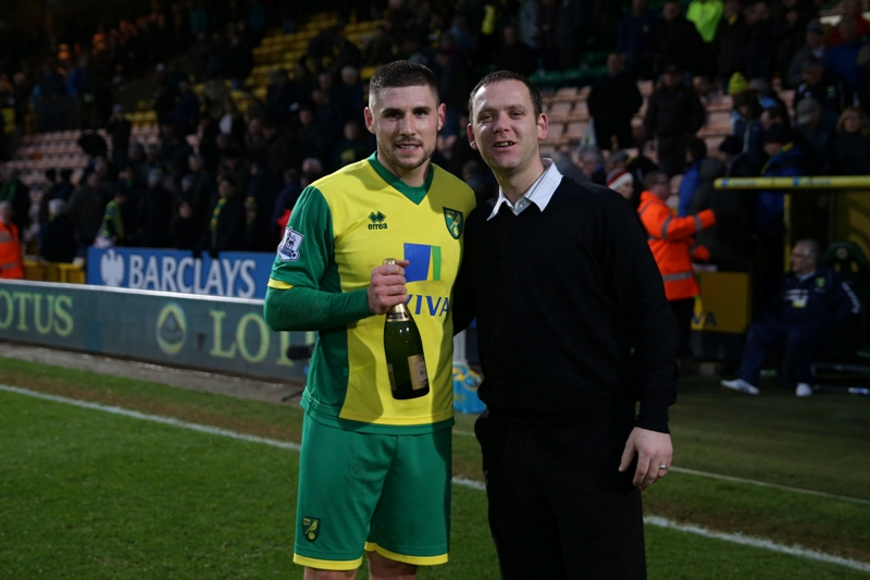 Gary Hooper was the Anglian Man of the Match
