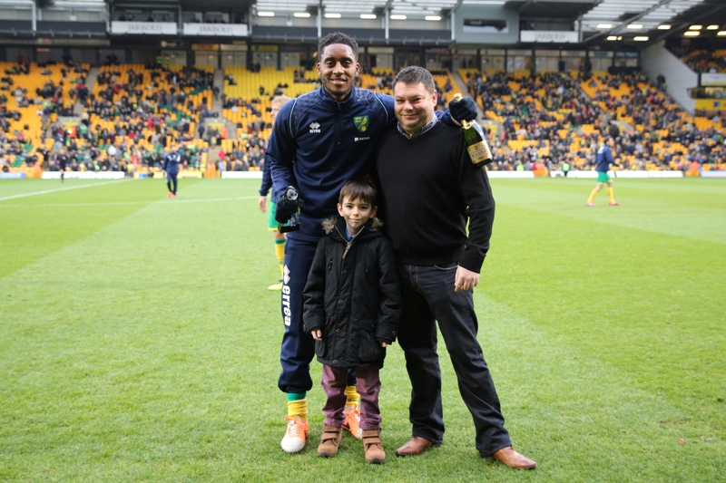 Leroy Fer was the November Anglian Home Improvements Player of the Month