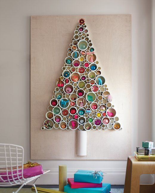 2D Christmas trees – 8 space saving designs for this festive ...