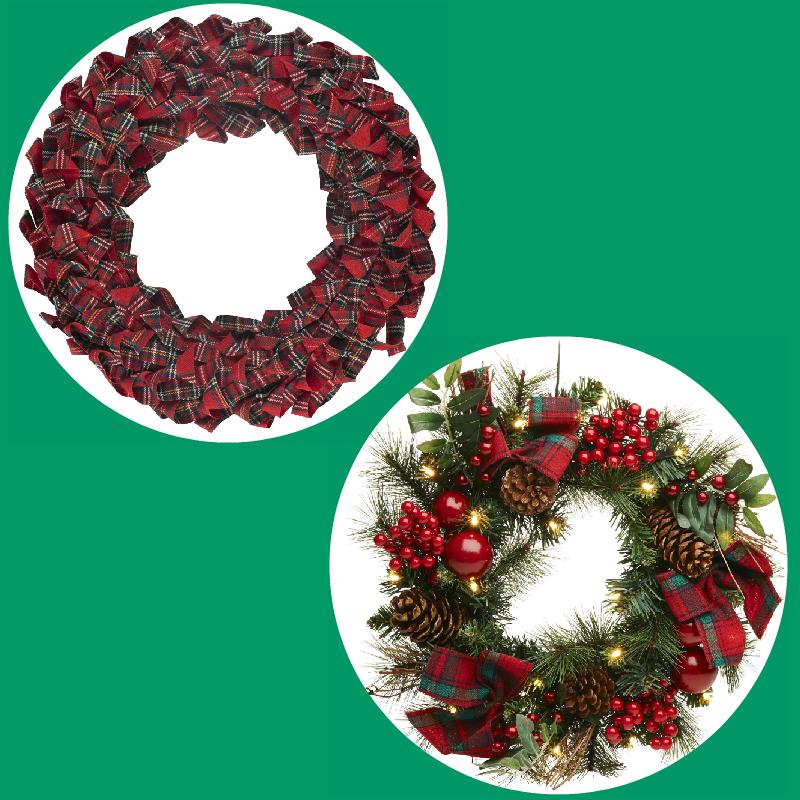 Terrific Tartan wreaths