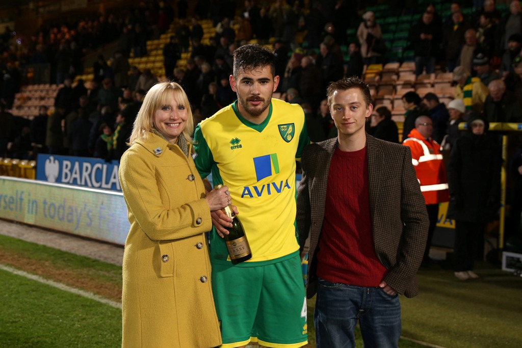 Bradley Johnson Anglian Man of the Match against Fulham