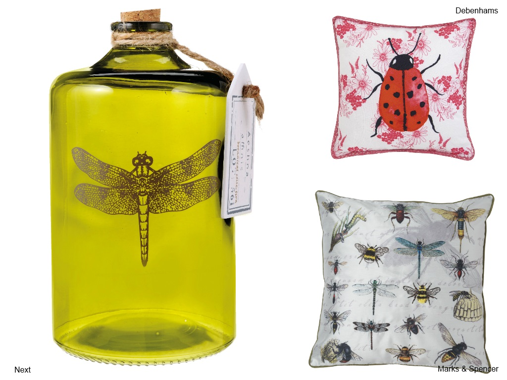 Creepy crawly home accessories