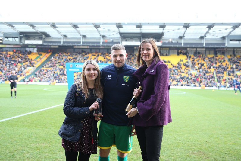 Gary Hooper Anglian Player of the Month for December