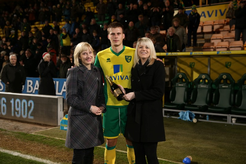 Ryan Bennett was the Anglian Man of the Match against  Hull City