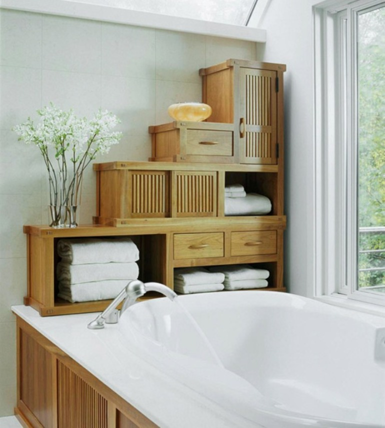BHG bathroom storage