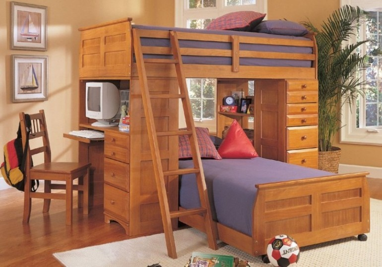 How to create a space saving bedroom while still fitting everything in - Furniture for small bedrooms keep space under control ...