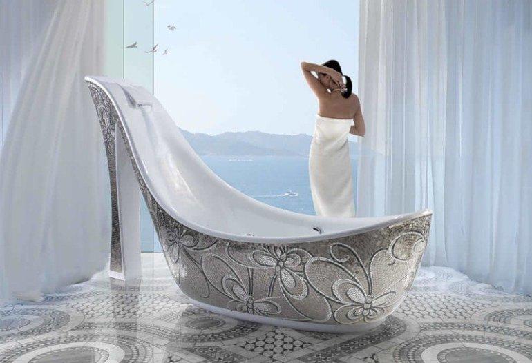 High heel bath