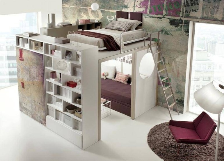 High top bed