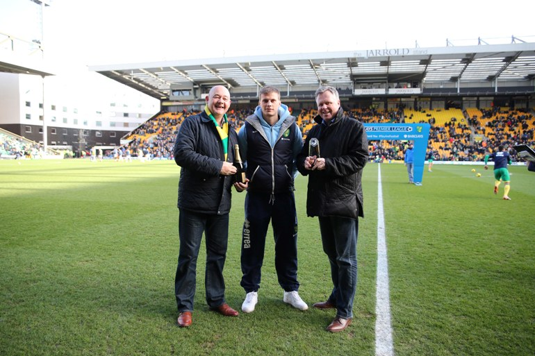 Ryan Bennett Player of the Month  January