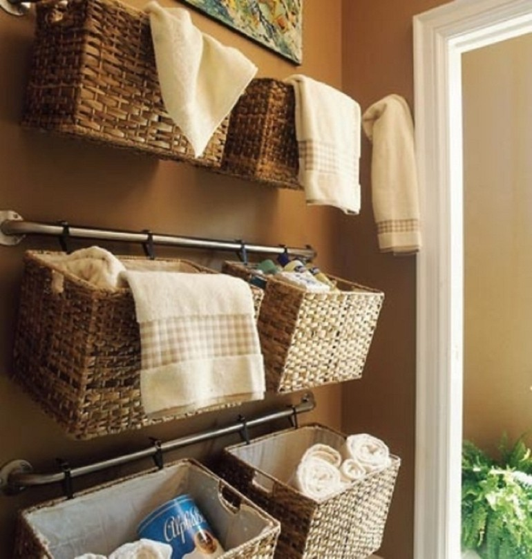 archihomez bathroom baskets