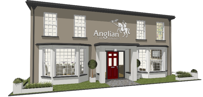 Anglian Ideal Home show Stand 2014