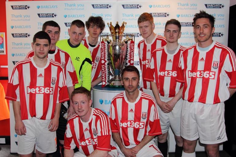 Champions Stoke City