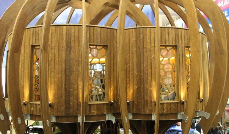 How QuietMark made a Silent Treehouse at the Ideal Home Show
