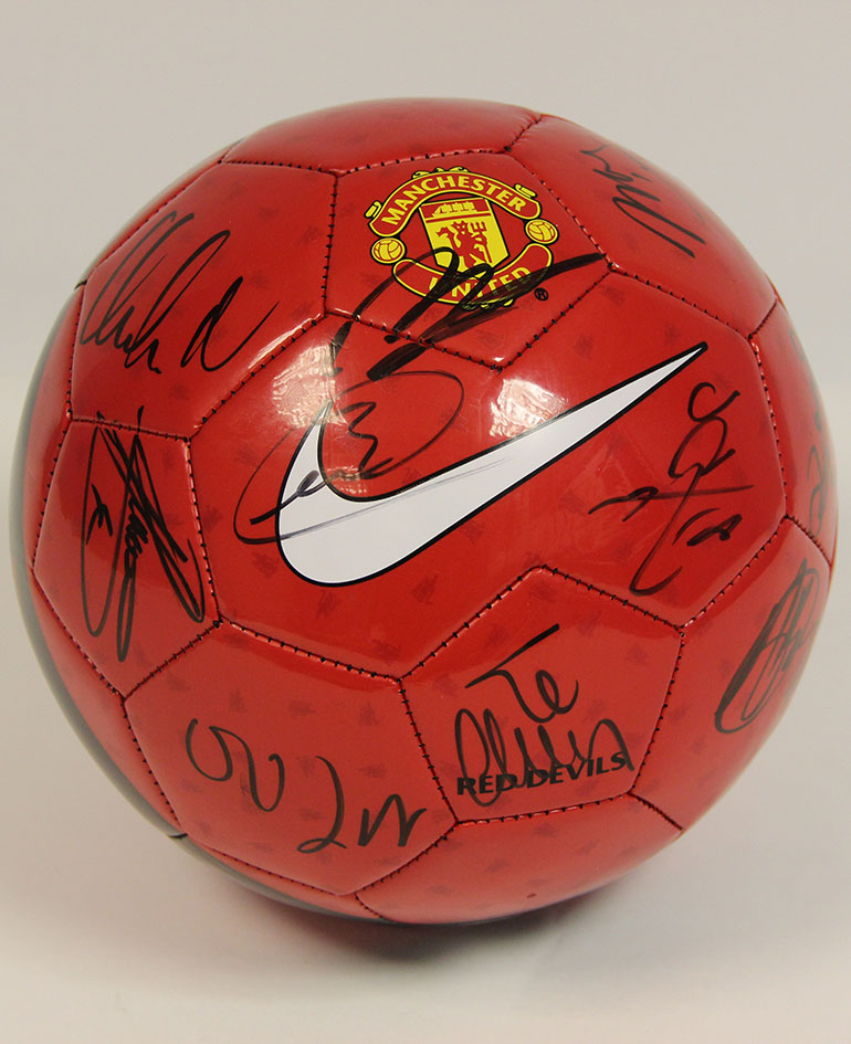 Click here to bid on the Signed MUFC Ball