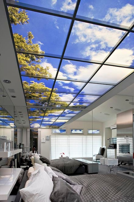 Cahn Residence Whole Ceiling lights