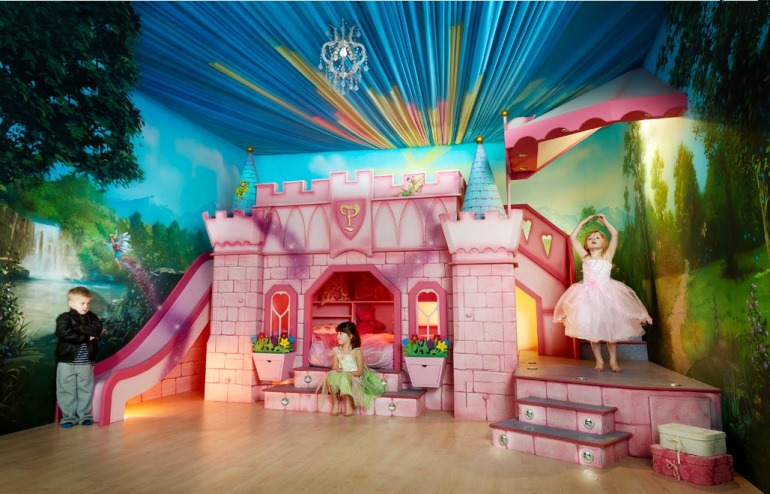 Princess Castle bedroom