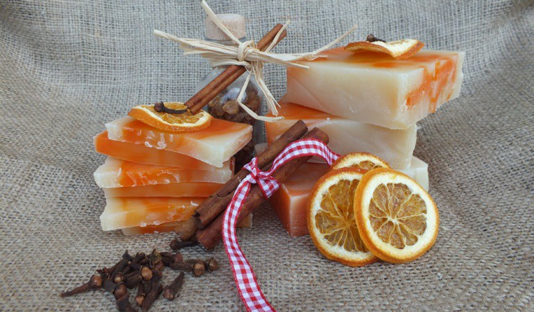Why homemade soaps are naturally better for your skin