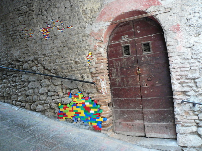 Artist Repairs Real Life Buildings With Lego Good To Be Home