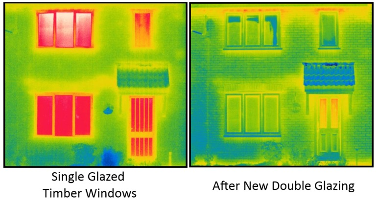 thermal before and after