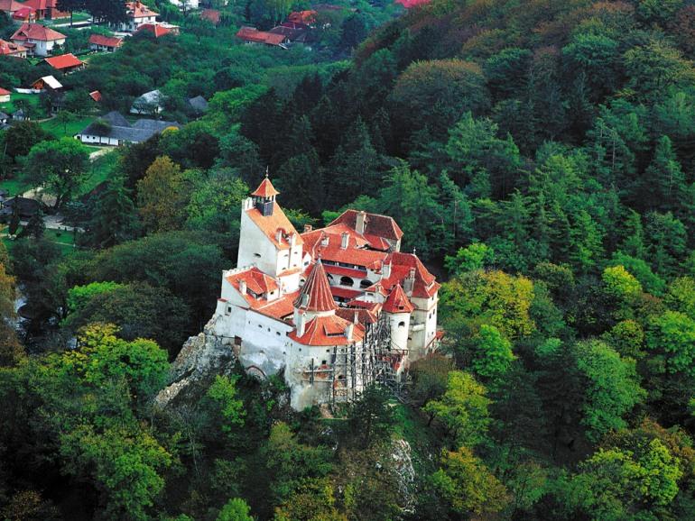 Bran Castle Birdseye view