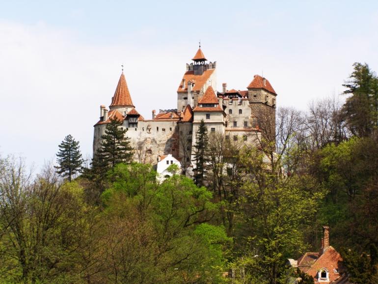 Grand view of Bran castle