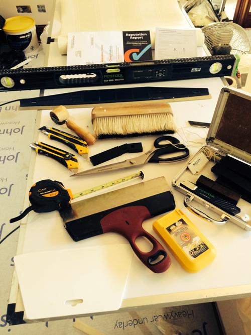 Wallpapering Kit