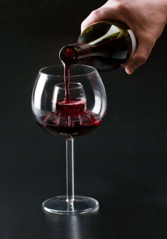 Aerating Wine Glass