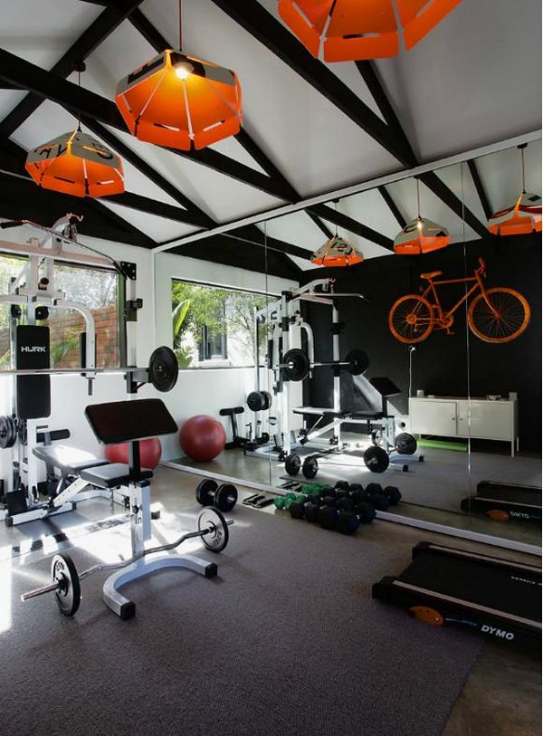 single garage gym ideas - These 10 Home Garages show how you should really use the