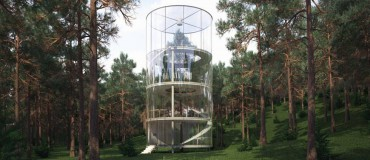 Russia's Answer to Tree House Modernism